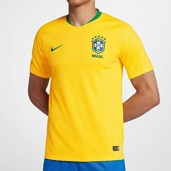 Nike 2018 2019 Brazil Home Football Shirt Jerseys Amazon Canada