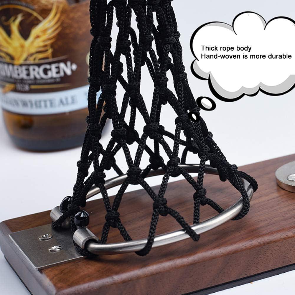 ideale come regalo per gli amanti del basket e della birra strumento in legno pratico accessorio per la casa Apribottiglie da pallacanestro per birra e vino Happymore