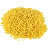 1pack 100% Natural Organic Yellow Beeswax Pellets Cosmetic Grade DIY Homemade Lip Balm Lotions Body Cream Soap Making Ingredients Supplies 50g / 1.76oz with Plastic Bag