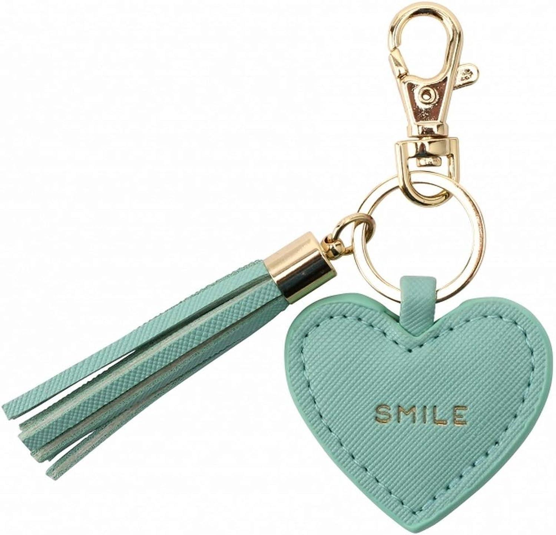 """Willow /& Rose Porte-clef en forme de c/Å/""""ur Smile"""