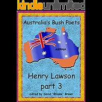 Henry Lawson part 3 Australia's Bush Poets (English Edition)