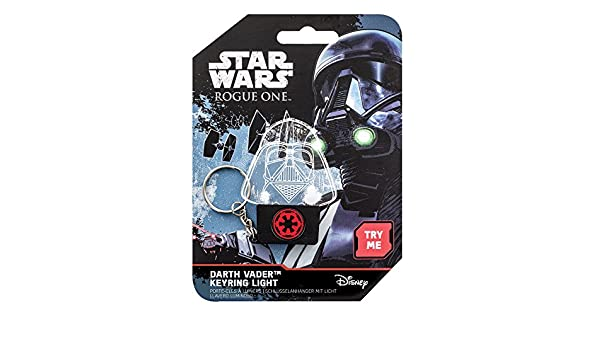 Amazon.com: Star Wars Rogue One Light-Up Keychain Darth ...