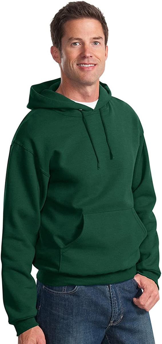 Cardinal NuBlend 50//50 Pullover Hood Small Jerzees 8 oz