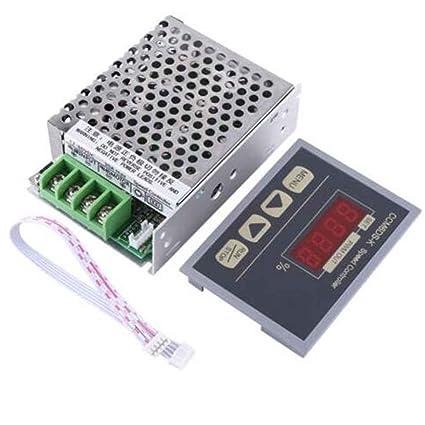 Motor Soft Starter Controller PWM Motor Governor Con Display Digitale DC 12-80V