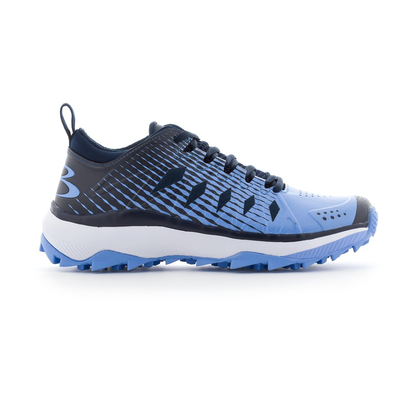 Boombah Women's Squadron Turf Shoes - 14 Color Options - Multiple Sizes B079JPG2F9 6.5|Navy/Columbia