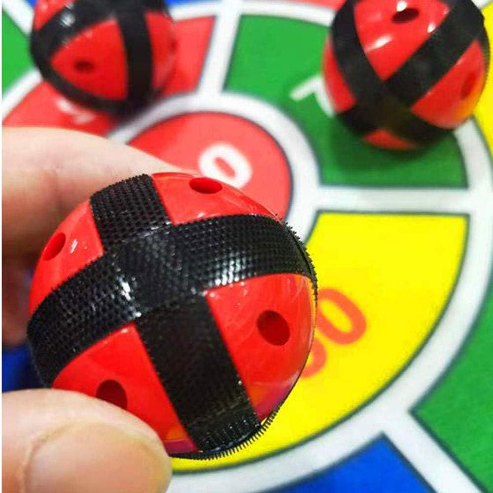ZLBZBB Dardo Conjunto de los niños, de plástico Adhesivas Objetivo de Juguetes para la Seguridad y Juegos, Dardo Bola, Ropa de Destino, 37.5cm: Amazon.es: Deportes y aire libre