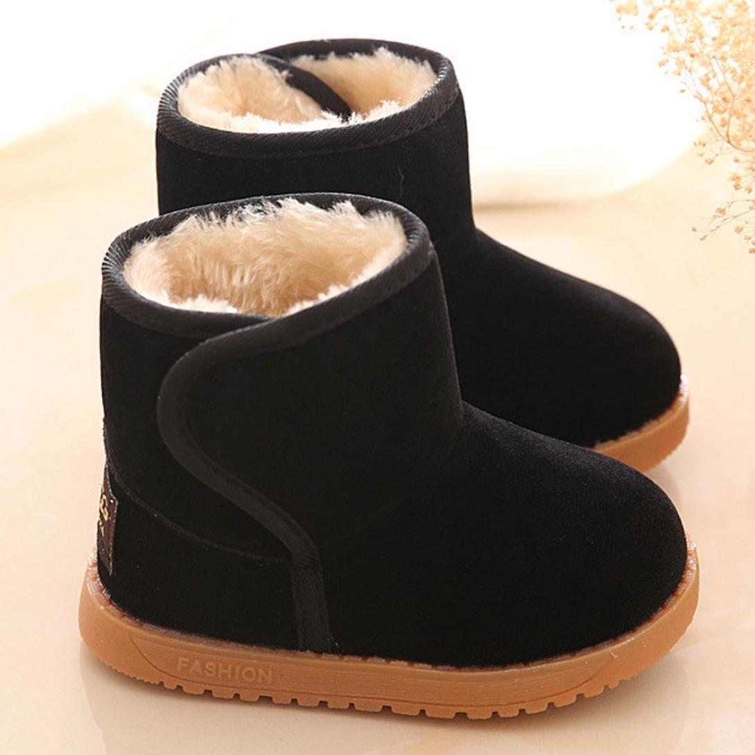 51fbb84b46c9a Zapatos bebé Niña Niño Amlaiworld Botas de bebé de invierno Zapatos  calientes de nieve 1 - Ampliar imagen