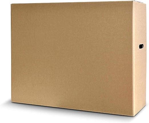 Caja de cartón con pantalla LCD LED de plasma para TV, doble pared, resistente hasta 32 pulgadas: Amazon.es: Electrónica