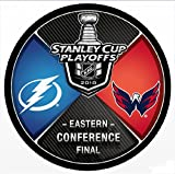 #7: The Hockey Company 2018 LIGHTNING VS. CAPITALS EASTERN CONFERENCE FINAL HOCKEY PUCK STANLEY CUP FINALSPRE-ORDER ITEM - SHIPPING BEGINS O MAY 24TH TAMPA BAY