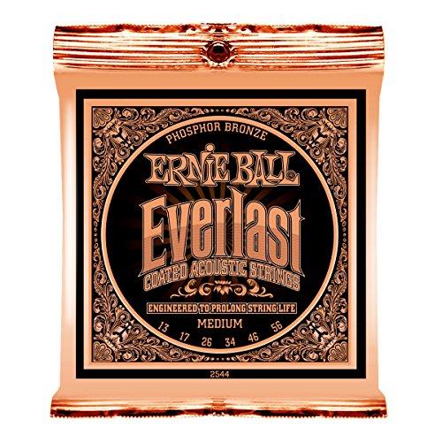 Ernie Ball Everlast Medium Coated Phosphor Bronze Acoustic S