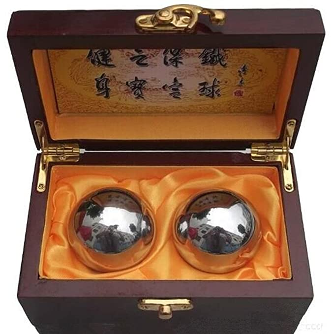 8 opinioni per Colormax Baoding balls Chinese Health Exercise stress balls – Chrome