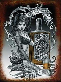 Sexy goth tattoo