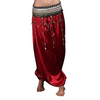 Belly Sunwanyi Mode Pantalon Danse Femme Oriental Élégant Arabe qEEawpBr