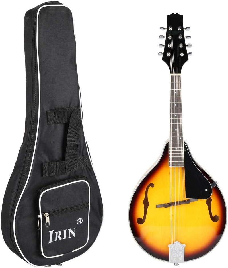 irin Mandolina guitarra Clásica de madera Clásico 8 Cuerdas ...