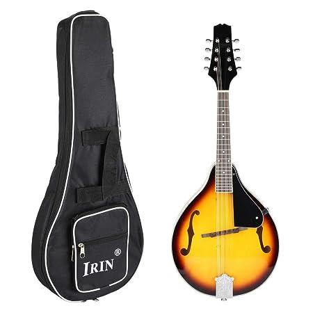 Coco Brazo Tradicional Mandolin Instrumento Madera 8 String ...