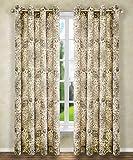 Ellis Curtain Cadogen Lined Grommet Panel, 50 x 63, Grey For Sale