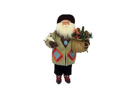Amazon.com: Home Decor 9367 - Figura decorativa de Papá Noel ...