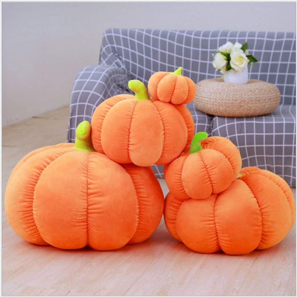 YunNasi Pumpkin Pillow Pumpkin Shaped Cushion for Couch,Sofa,Car,Living Room Plush Toy Home Decoration 7.09 inches