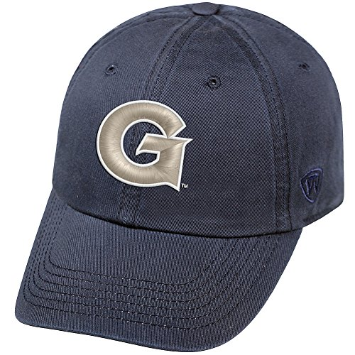 reputable site 76e62 58a8b Elite Fan Shop Georgetown Hoyas Hat Blue
