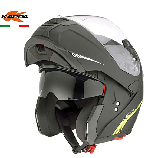 Amazon.es: GIVI HKKV25BN90056 Modular Casco Kv25 Nevada, Color Negro Mate, Talla S/56