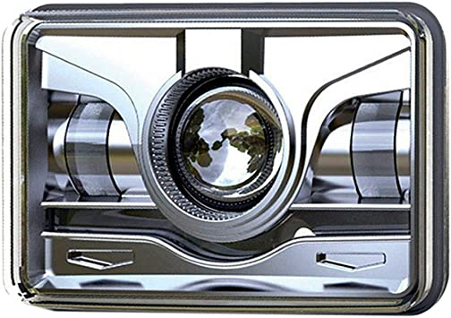 """4x6/"""" LED Headlights Headlamp DRL Projector Crystal For Chevrolet Monte Carlo"""