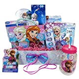 easter basket for girls - Easter Gift Basket Idea with 10 Frozen Themed Items for Girls