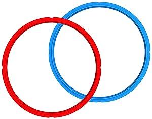 Instant Pot Sealing Rings 2-Pack - Mini 3 Quart Red/Blue