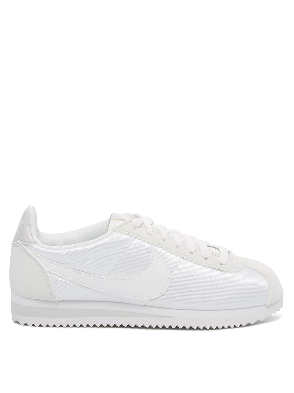 NIKE NIKE NIKE Damen WMNS Classic Cortez Nylon Sneakers Beige (Ivory/Light Bone/Summit Weiß) 6ef5d1