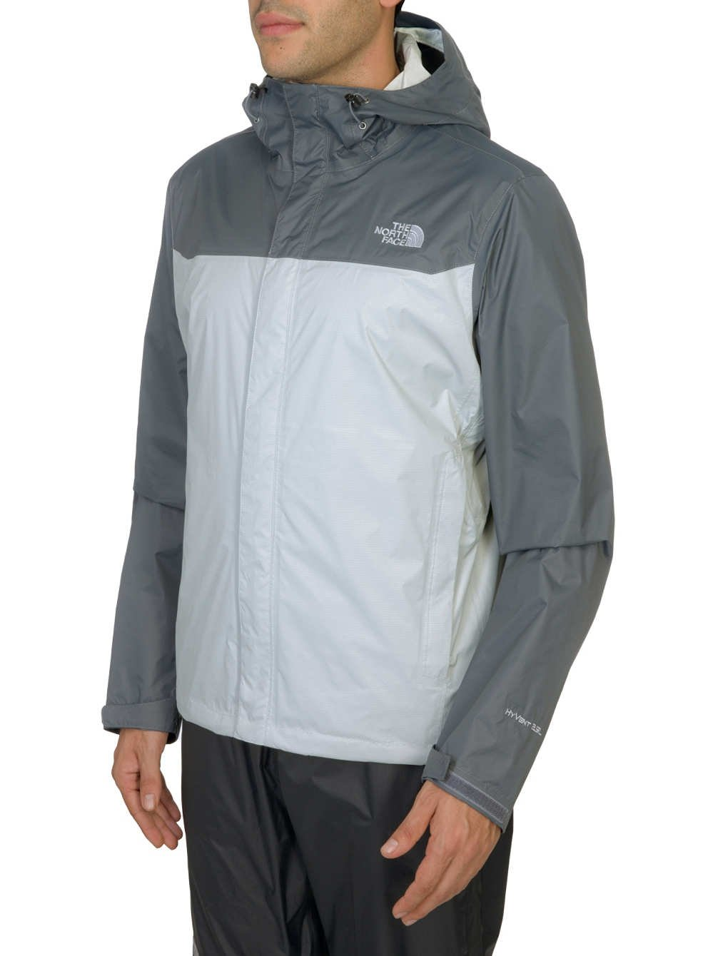 The North Face Venture Jacket - Men's High Rise Grey/Vanadis Grey XX-Large by The North Face