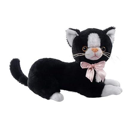 Beppe Gato de Peluche Grande Gato XL Ideal Peluche Regalo Gato de la Suerte Gato en