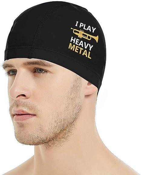 Jxrodekz Toco la Gorra de natación Heavy Metal, la Gorra de ...