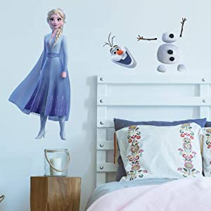 RoomMates Disney Frozen 2 Elsa and Olaf Peel and Stick Wall Decals