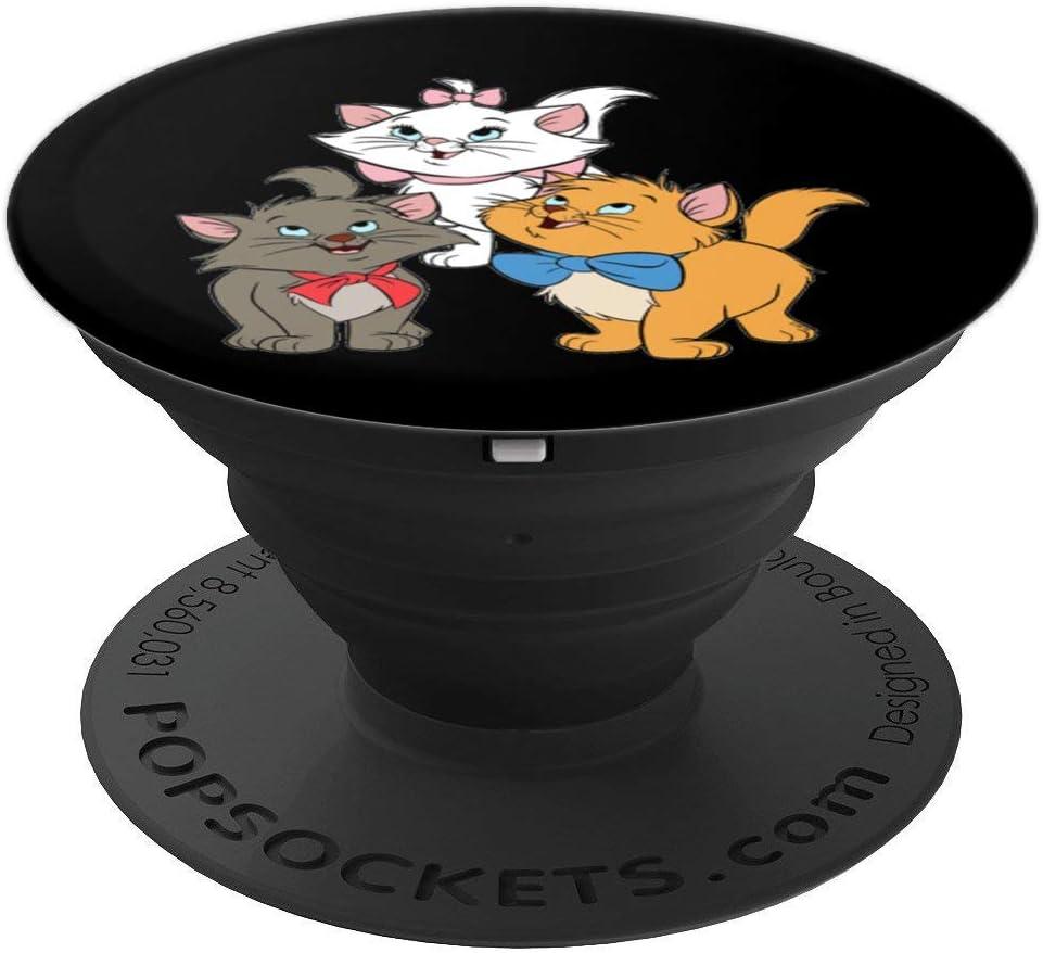 Aristochats Chatons PopSockets Support et Grip pour Smartphones et Tablettes Filles Marie Cat Cadeaux Femmes