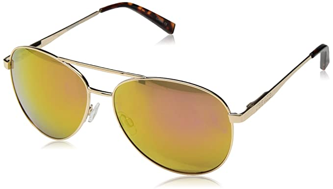 26e425ab0ef5a Steve Madden Women s Sm482166 Aviator Sunglasses