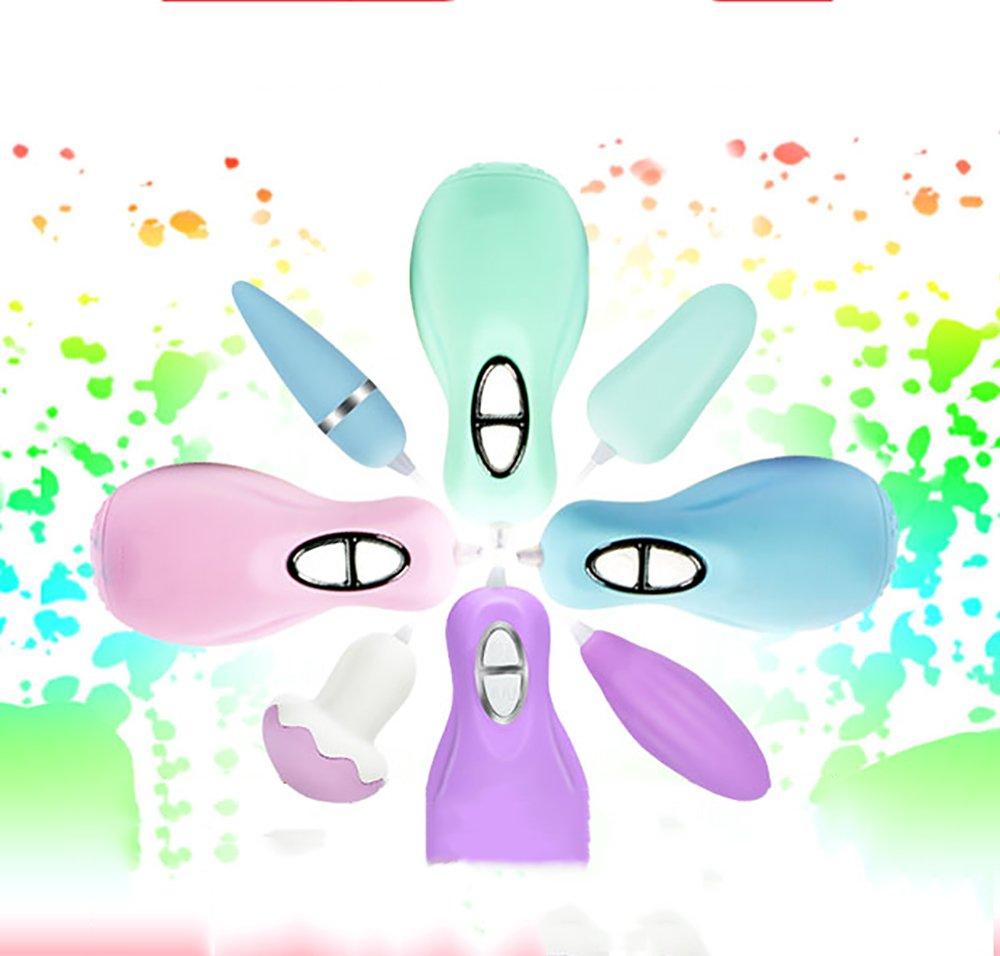 OOFAY Silicona Vibrante Vibrante Vibrante Huevo 30 Frecuencia Coquetear Huevo Seta Forma Vibración Hembra Masajeador Impermeable Par Suministros ac170d