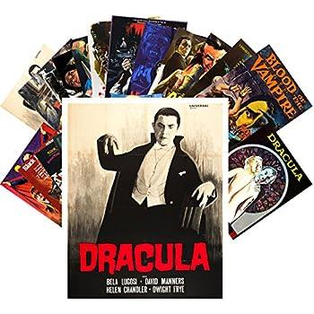 Postcard Set 24 cards Vampires Thriller Vintage Trash Horror Movie Posters