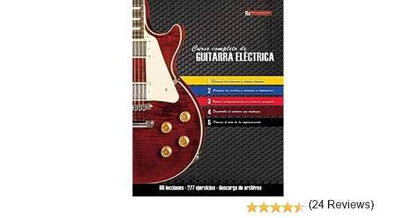Curso completo de guitarra eléctrica: Método moderno de técnica y teoría aplicada eBook: Miguel Antonio Martinez Cuellar: Amazon.es: Tienda Kindle
