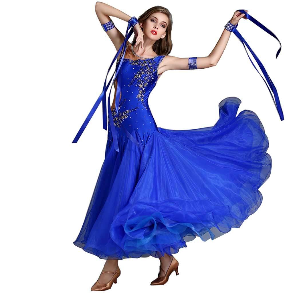 素晴らしい価格 大人のモダンダンスドレス ブルー XL、ドレスフォーシーズンズブルー B07H2ZM8BL B07H2ZM8BL ブルー XL, Grandeir:6f6dbed1 --- vrpawar.in