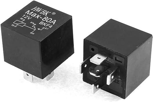 80A Relay 12V DC SPDT 5 Pin Car Changeover Automotive //Car //Bike //Van Relays