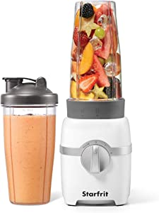 Starfrit Electric Personal Blender, Clear, Standard (024303-004-0000)