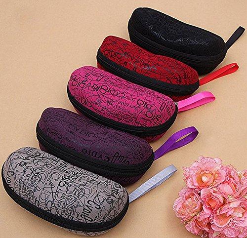 Violet Violet Lunettes Étui Yuhemii à Rose Femme qwU8Wfxp