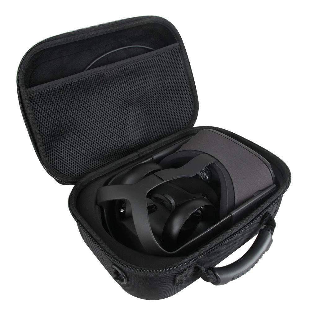 Adada Hard Travel Case for Oculus Quest All-in-one VR Gaming Headset