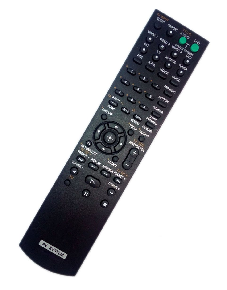 Replaced Remote Control for Sony HTDDW790 RM-AAU014 STR-K700 148009921 STRDG500 Home Theater Audio/Video Receiver AV System