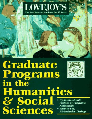 Graduate Programs in Arts, Humanities, & Social Science