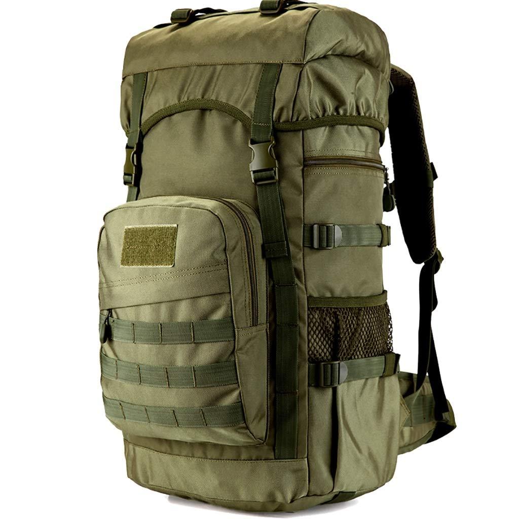 アウトドアリュックサック、多機能バックパック、55L男性と女性大容量ショルダーバックアウトハイキングバックパック荷物袋、4色 A