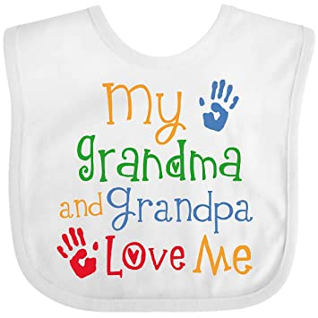 inktastic Thanksgiving with My Abuelo and Abuela Cute Long Sleeve Creeper