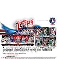 Topps 2018 Baseball Hobby Edition Complete 705 Card Factory Set - Baseball Complete Sets