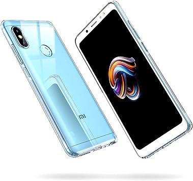 ESR Funda para Xiaomi Redmi Note 5 Carcasa Redmi Note 5 Transparente Suave TPU Gel [Ultra Fina][Protección a Bordes y Cámara] Enjaca para Xiaomi Redmi Note 5-Transparente: Amazon.es: Electrónica