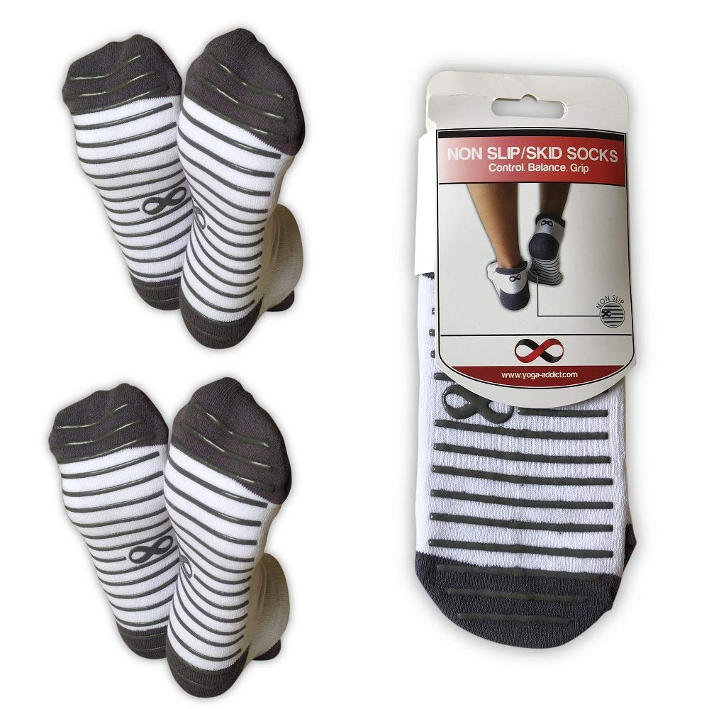 Calcetines antideslizantes YogaAddict para uso hospitalario, viajes ...