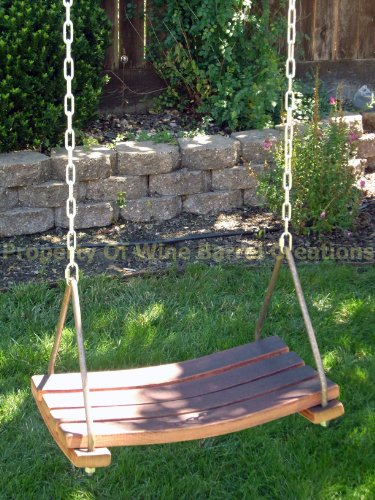 Stave Place (Porch Swing, Tree Swing Made From Wine Barrel Staves By Wine Barrel Creations)